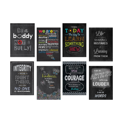 INSPIRE U POSTERS SET OF 8