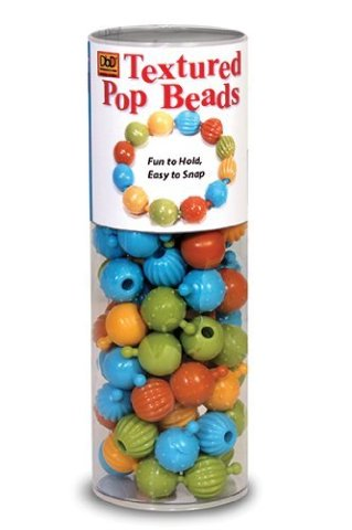 Pencil Grip Pop Beads, Tactile Awareness Development, DBD-965, 100 Count Tube