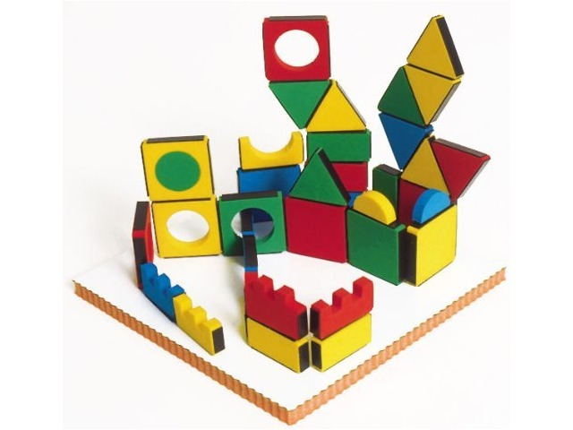 Magic Shapes 54 Piece Foam Blocks