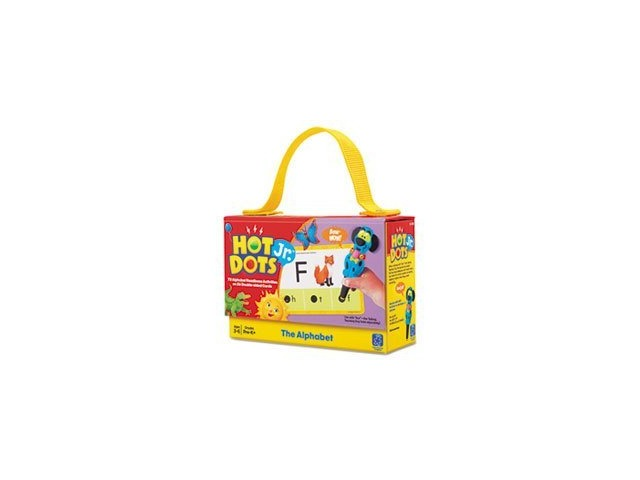Educational Insights Hot Dots Jr. Cards - The Alphabet (2351)