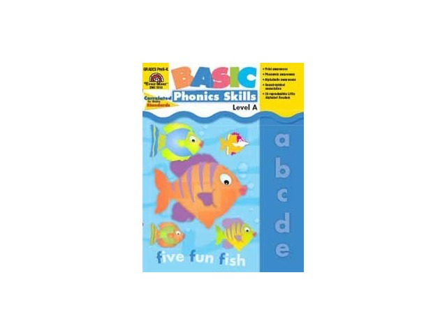 Basic Phonics Skills, Grades PreK - K (Level A)