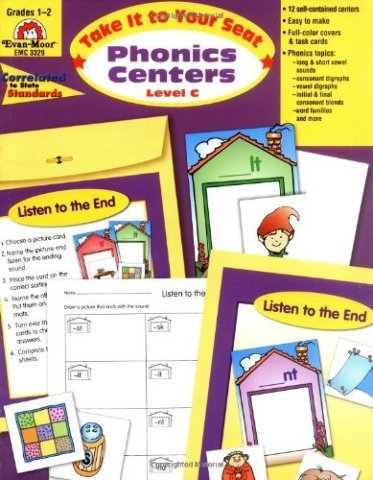 Take It to Your Seat Phonics Centers, Grades 1-2