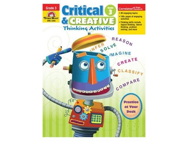 Evan-moor Emc3393 Critical And Creative Thinking Activities Gr 3