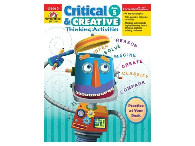 Critical and Creactive Thinking Activities, Grade 5