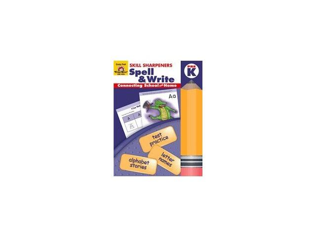 Spell & Write Pre Kindergarten