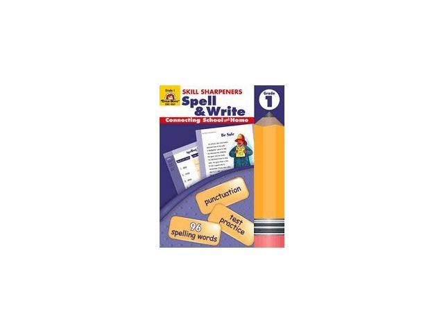 Skill Sharpeners Spell & Write Gr 1