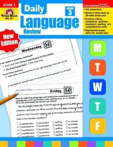 Daily Language Review, Grade 3