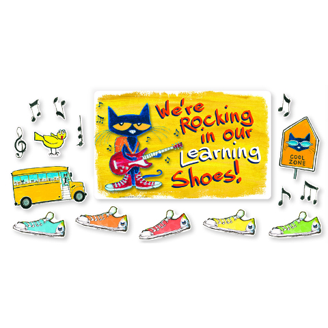 WERE ROCKING IN OUR LEARNING SHOES