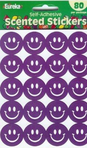 Eureka Eu-65098 Stickers Scented Smiles Grape