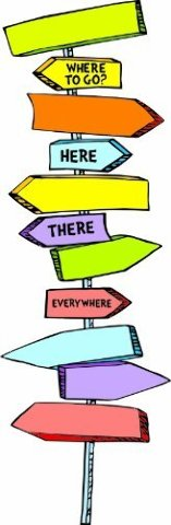 Eureka Dr. Seuss Blank Directional Signs Mini Bulletin Board Set
