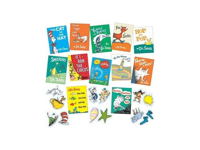 Dr. Seuss Books Mini Bulletin Board Set