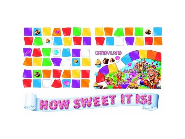 Eureka Candy Land How Sweet Mini Bulletin Board Set