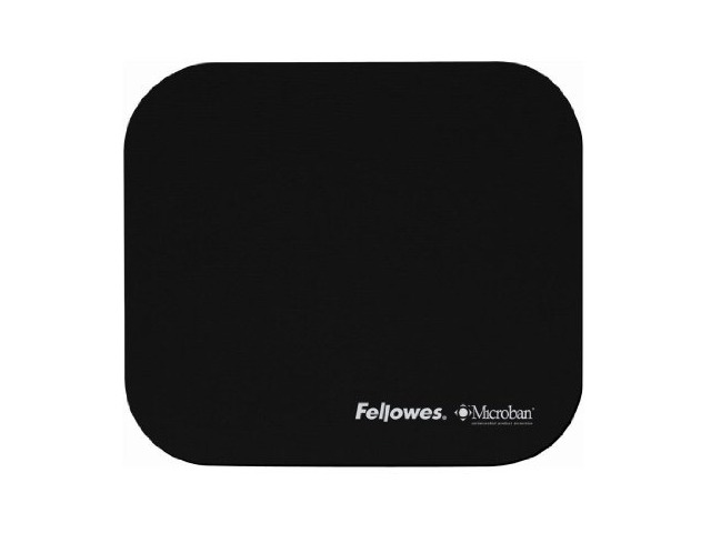 Fellowes Mouse Pad with Microban, Black (5933901)