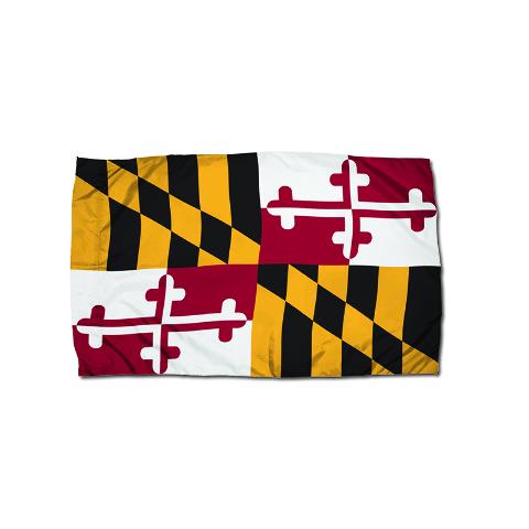 3X5 NYLON MARYLAND FLAG HEADING &