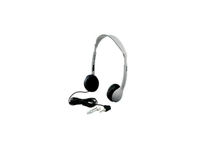 Hamilton Schoolmate Personal Mono/Stereo Headphone With Leatherette - Hamilton MS2L