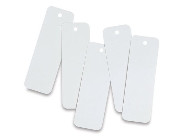 Hygloss Products Inc. Bookmarks 2 X 6 Ultra White 100