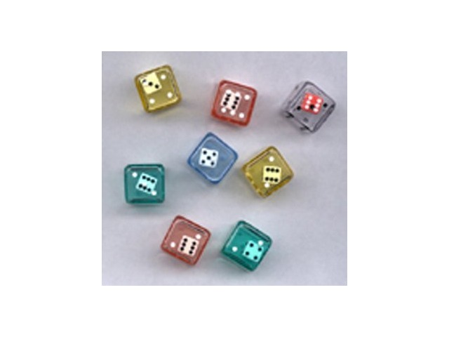 6 Sided Double Dice