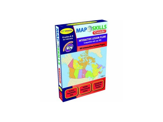 Map Of Canada Grade 6.Map Skills Canada Interactive White Board Software Wizard Of Math