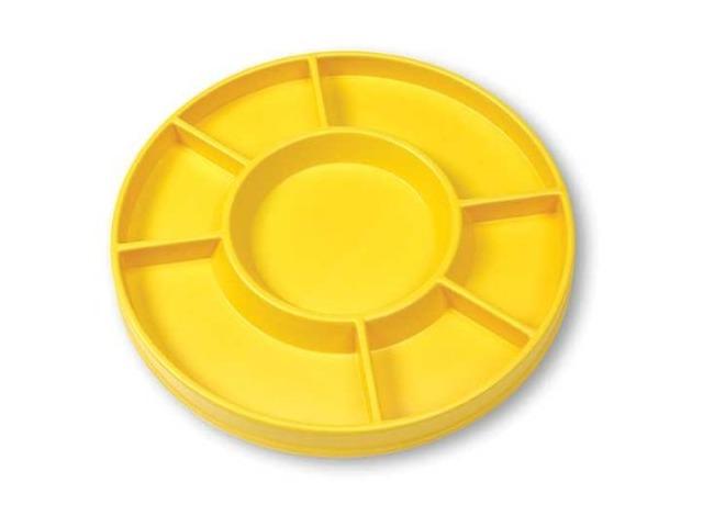 Circular Sorting Tray; 7 Compartments
