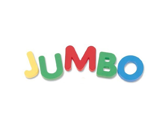 Learning Resources Jumbo Magnetic Uppercase Letters (40-Piece)