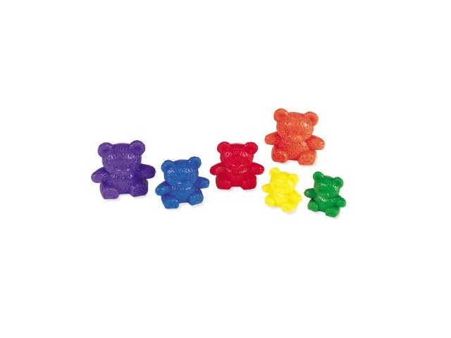 Learning Resources Three Bear Family Rainbow Counters (96)