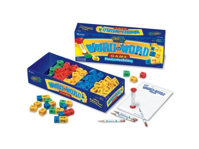 Learning Resources Rrods Word For Word Game