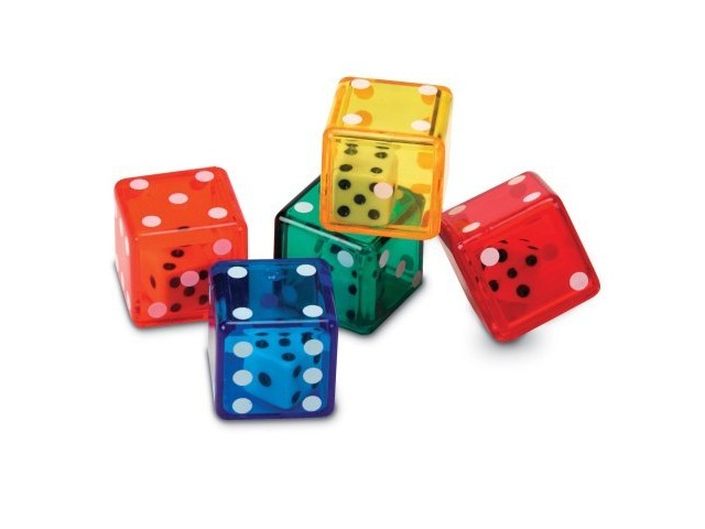 Learning Resources Dice In Dice Set Of 72