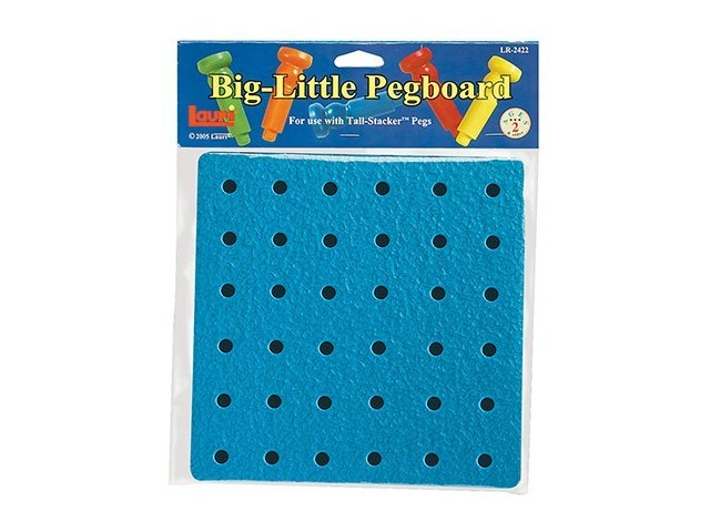 Patch Products/smethport/lauri Lr-2422 Tall-stacker Pegboard Big-little 8 Inches 36 Holes Pegboard Only