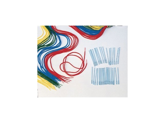 """Lauri Toys 36"""" Long Extra Laces, Assorted Colors, 24-Piece"""