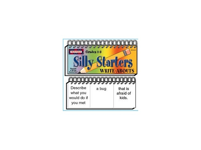 Write-Abouts Silly Starters; Grades 1-3; no. MC-W2020