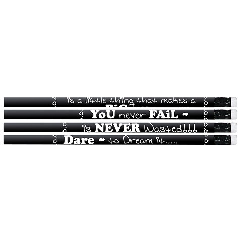 CHALKBOARD TALK PENCIL 12PK