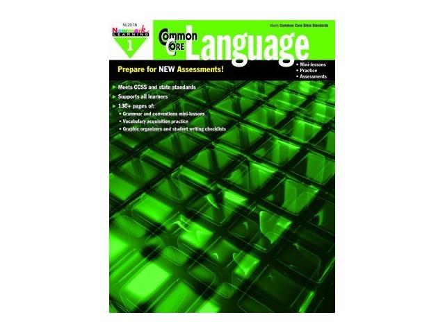 Common Core Practice Language Book Grade 1