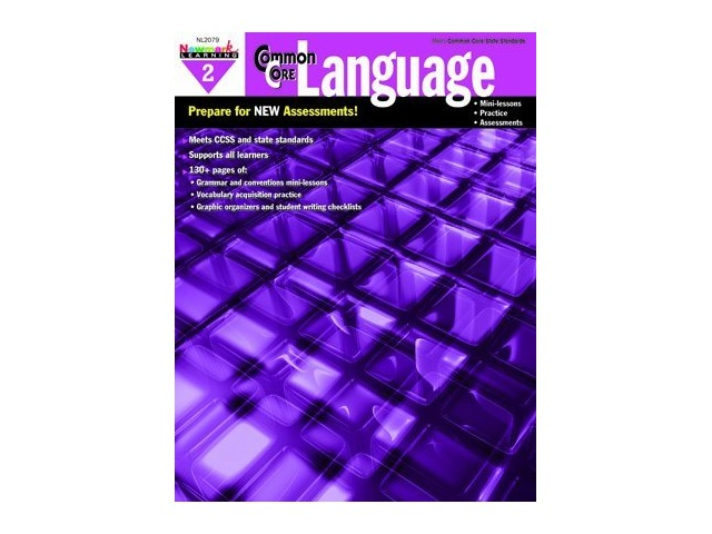 Common Core Practice Language Book Grade 2
