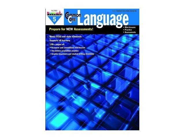Common Core Practice Language Book Grade 5