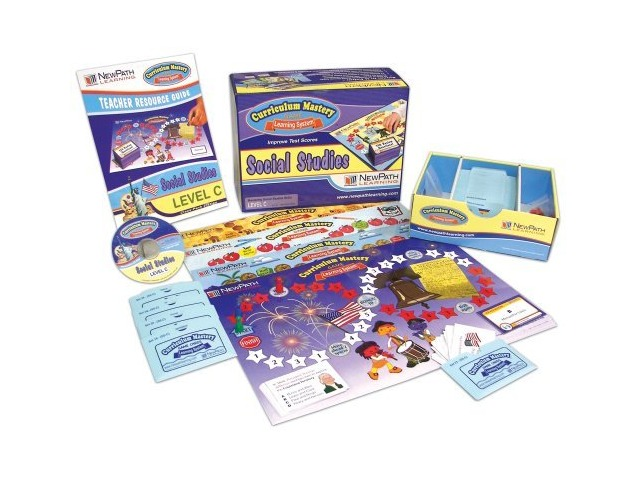 NewPath Learning Social Studies Curriculum Mastery Game, Grade 3, Class Pack