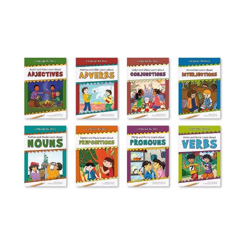LANGUAGE BUILDERS SET OF 8 BOOKS