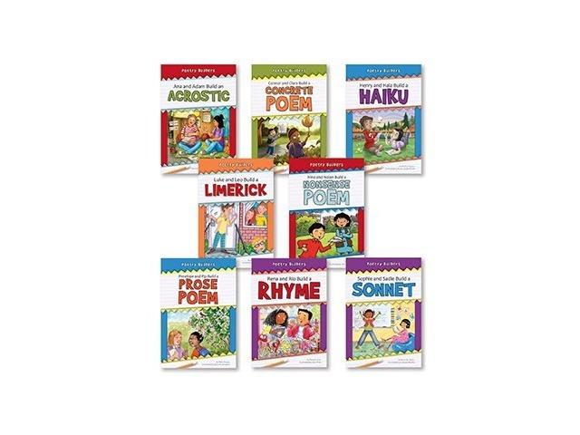 Poetry Builders Complete Set 8 Books