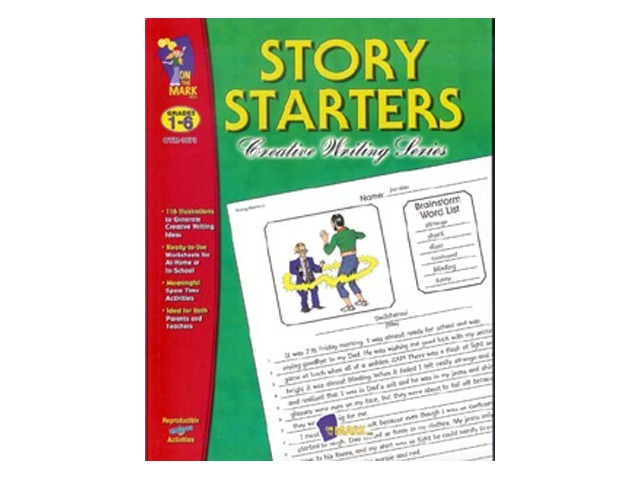 Story Starters - Creative Writing Series, Grades 1-6