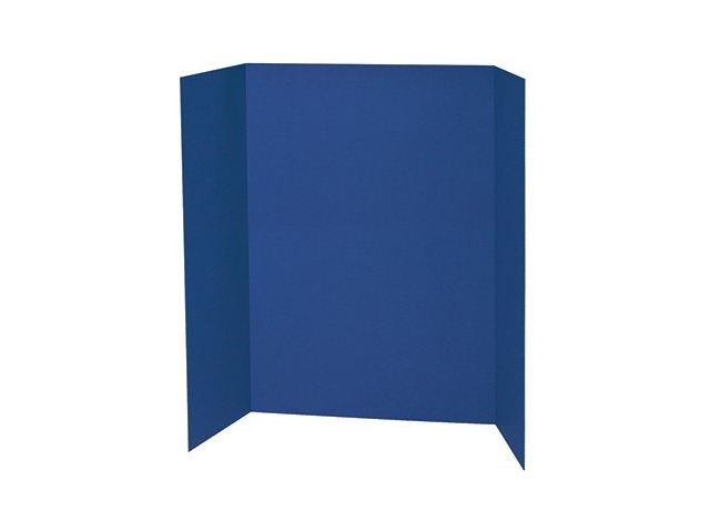 Light blue tri fold poster board