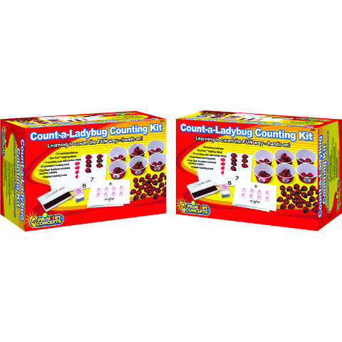 COUNT A LADYBUG COUNTING KIT