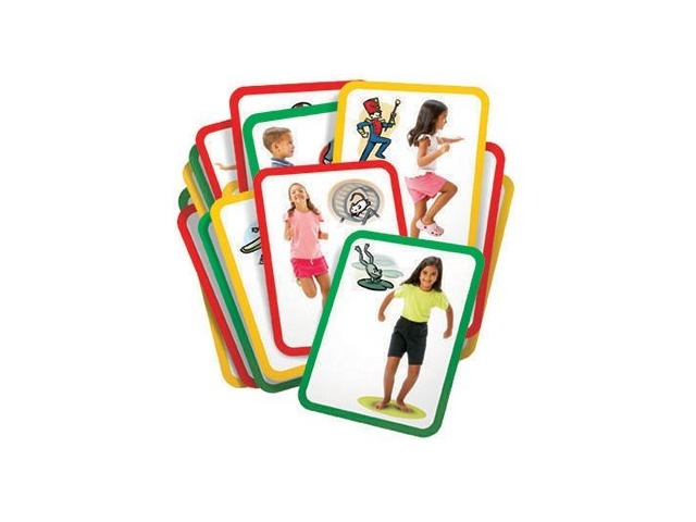 Busy Body Exercise Cards Set