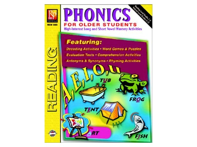 Phonics For Older Students; Grades 3-8; no. REM800