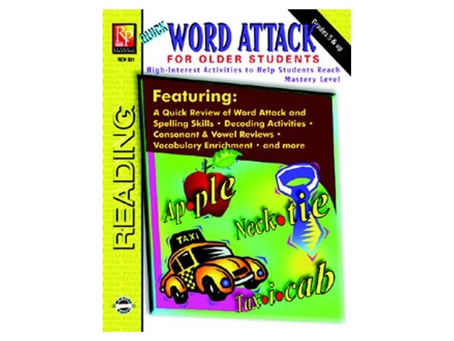 Quick Word Attack For Older St