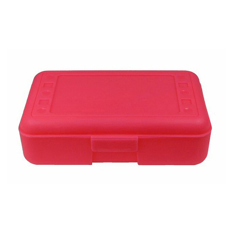 PENCIL BOX HOT PINK