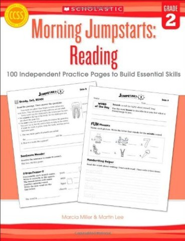 Morning Jumpstarts: Reading (Grade 2): 100 Independent Practice Pages to Build Essential Skills