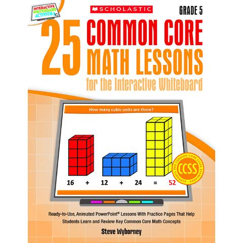 25 COMMON CORE GR 5 MATH LESSONS