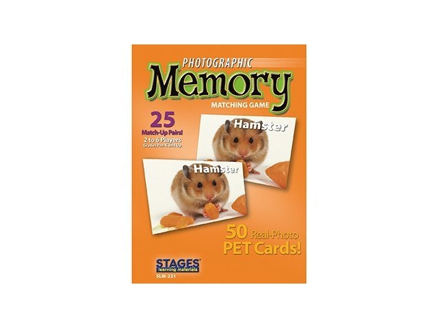 Photographic Memory Game - Pets
