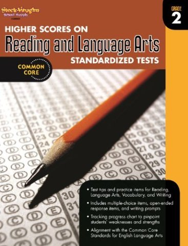 Higher Scores on Standardized Test for Reading & Language Arts: Reproducible Grade 2 (Steck Vaughn)