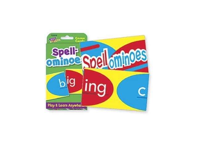 Trend Enterprises Inc. Challenge Cards Spellominoes