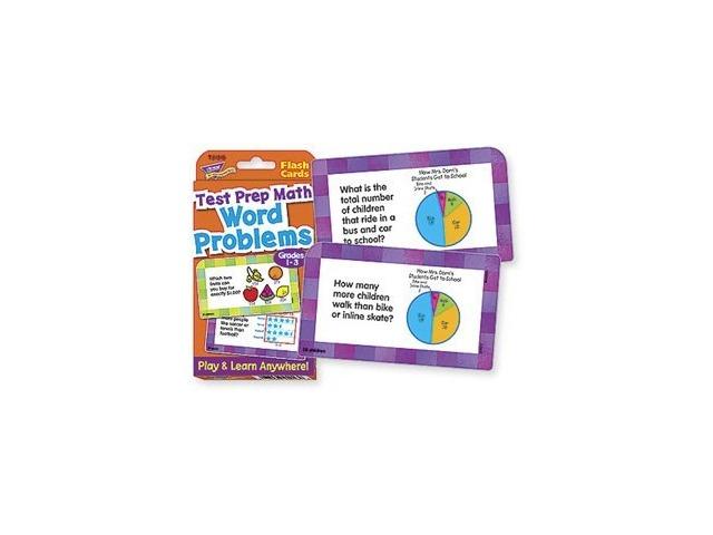 Word Problems Test Prep Math, Grades 1-3